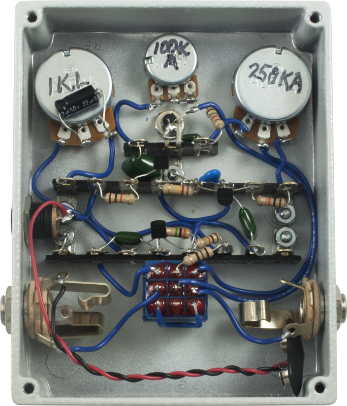 Internal wiring and components